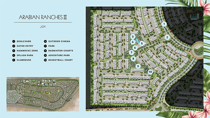Joy Townhouses by Emaar Masterplan